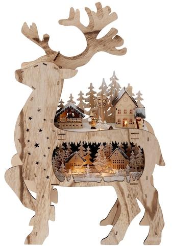 Lichterbogen »Rentier«, mit vielen Details, Höhe 67 cm kaufen