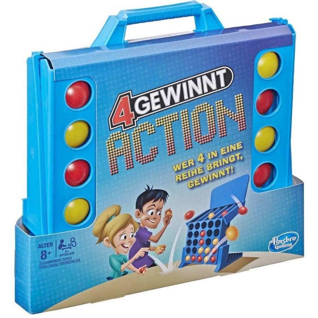 Hasbro Spiel »4 gewinnt Action«