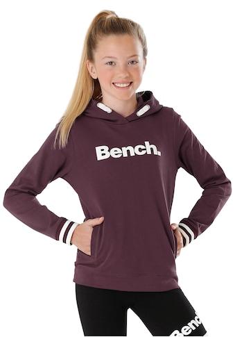 Bench. Kapuzensweatshirt, mit Frontdruck kaufen