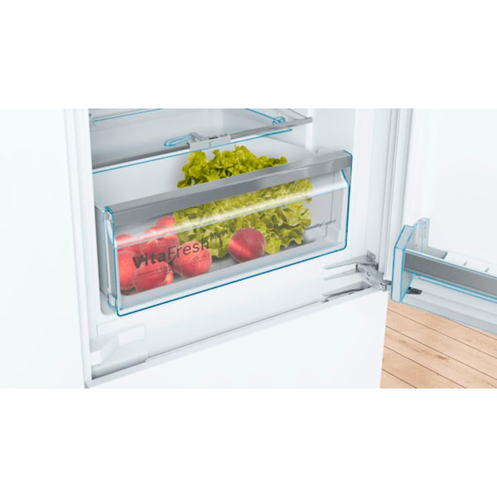 BOSCH Einbaukühlgefrierkombination »KIS77ADD0«, 6