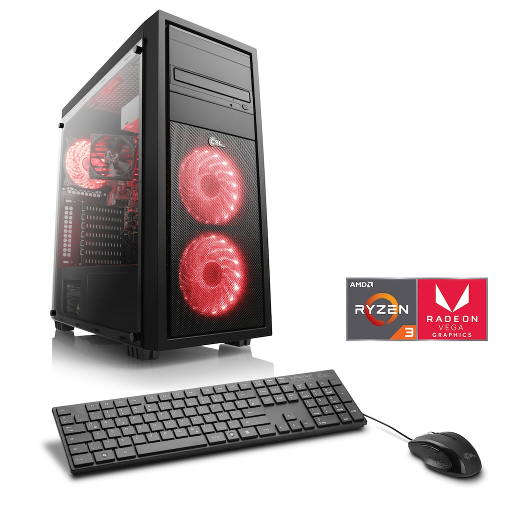 CSL Gaming-PC »Sprint T8390 Windows 10 Home«