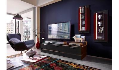 LEONARDO TV-Bank »CUBE«, für die Lowboards, mit 3 Glasfächern, Breite 189 cm kaufen