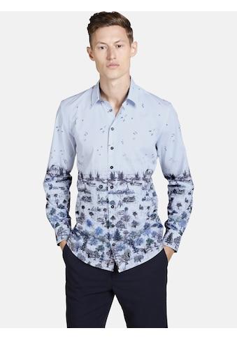 SHIRTMASTER Langarmhemd »winterpainting« kaufen