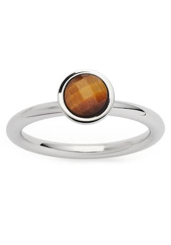 LEONARDO Fingerring »Ring Lale, 018892, 018893, 018894«, mit Tigerauge kaufen