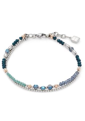 LEONARDO Edelstahlarmband »Natalina, 017908«, mit Glasperlen kaufen