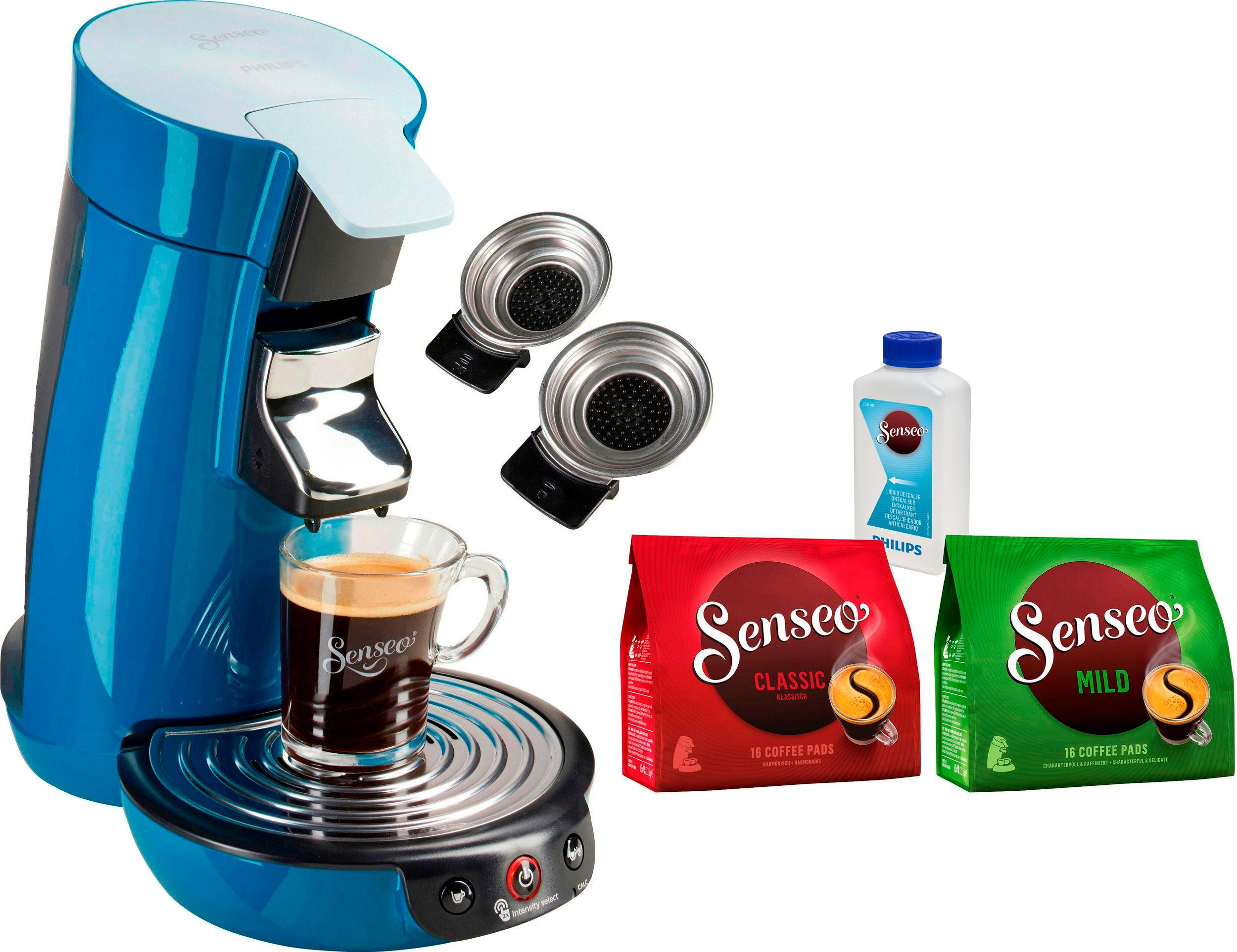 senseo kaffeepadmaschine senseo viva caf hd6563 70 auf. Black Bedroom Furniture Sets. Home Design Ideas