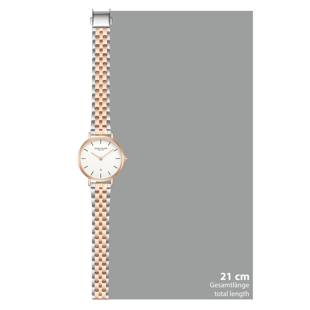 Eastside Quarzuhr »ES334«, (1 tlg.), mit Edelstahl-Armband