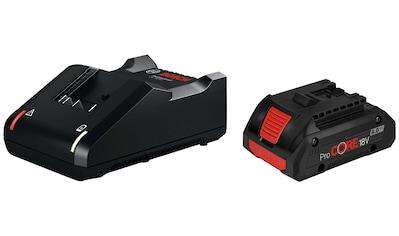 Bosch Professional Akku-Set »Starter-Set«, mit Schnell-Ladegerät kaufen