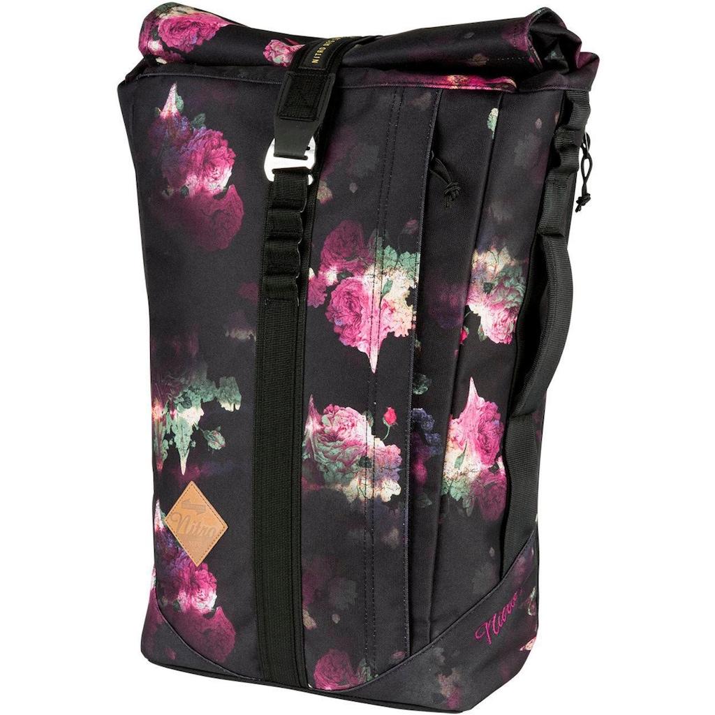 NITRO Freizeitrucksack »Scrambler, Black Rose«, mit Laptopfach