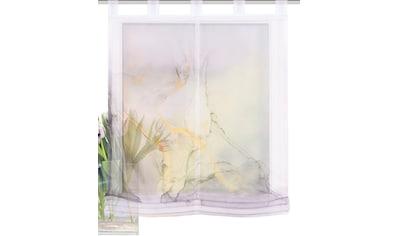 HOME WOHNIDEEN Raffrollo »MARMOSA«, mit Schlaufen, freihängend, Digitaldruck kaufen