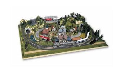 """NOCH Modelleisenbahn - Fertiggelände """"Rosenheim"""", Spur H0 kaufen"""