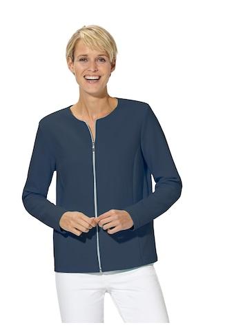 Casual Looks Jersey - Blazer in aktueller Rippoptik kaufen