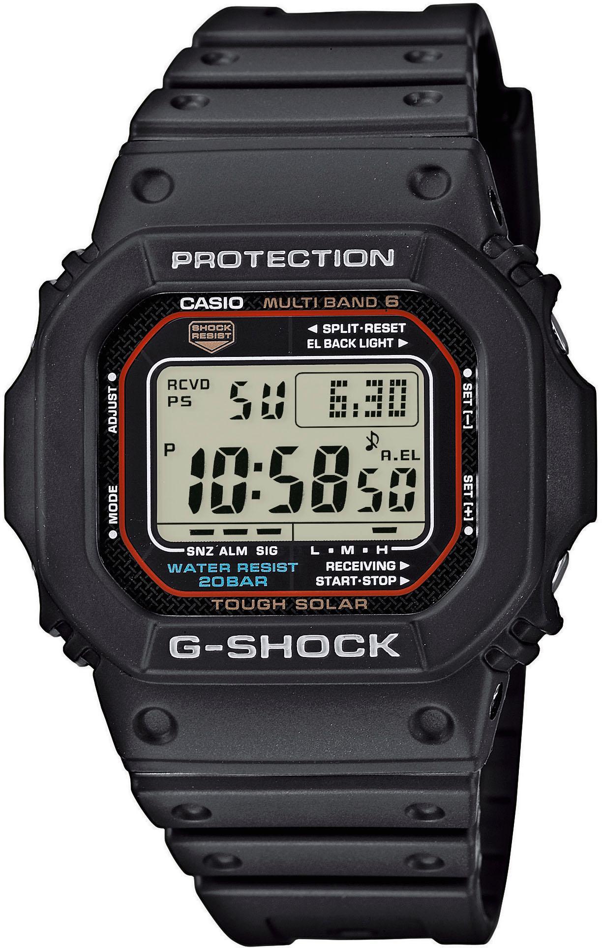 CASIO G-SHOCK Funk-Multifunktionsuhr GW-M5610-1ER   Uhren   Schwarz   Casio G-Shock