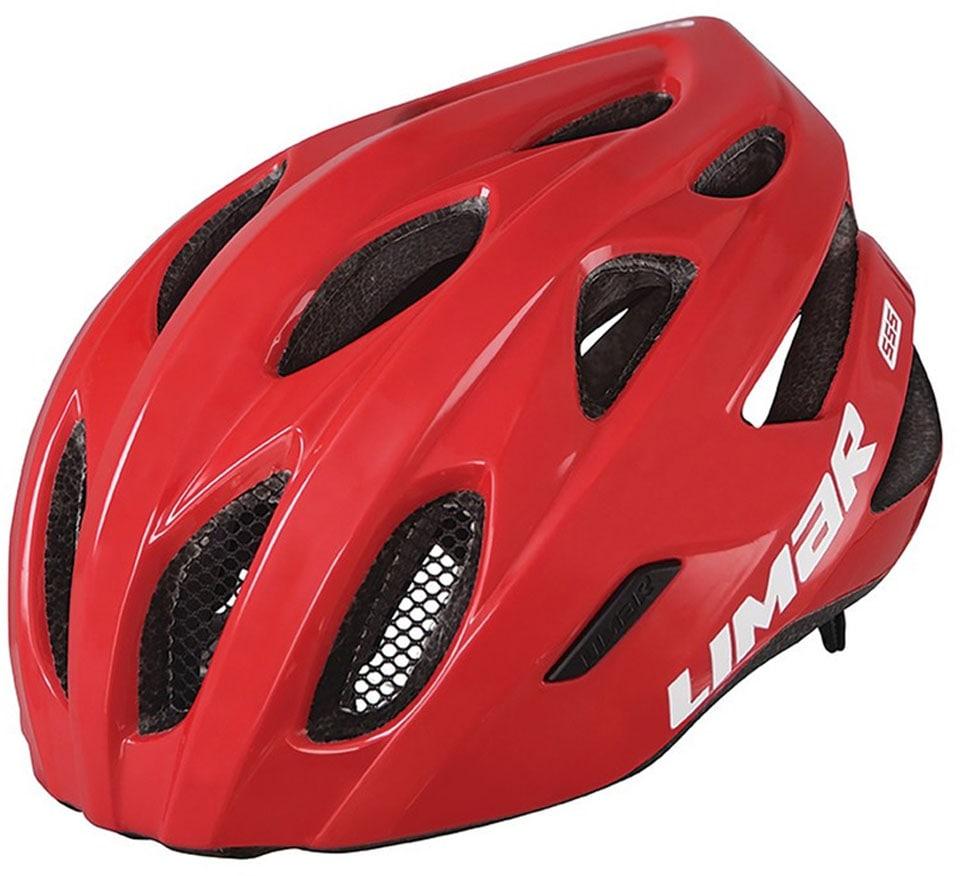 LIMAR Fahrradhelm 555 rot Rad-Ausrüstung Radsport Sportarten