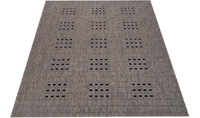 Bruno Banani Teppich »Farum«, rechteckig, 5 mm Höhe, In-und Outdoor geeignet, Wohnzimmer kaufen