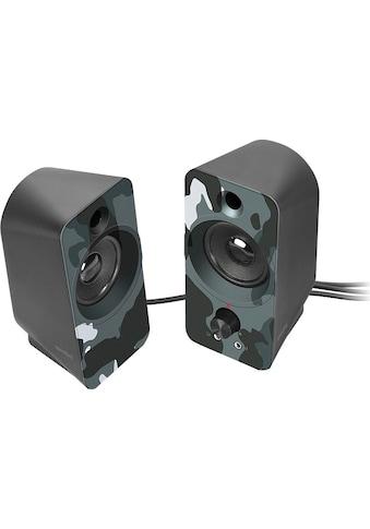 Speedlink »DAROC Stereo Lautsprecher schwarz« PC - Lautsprecher kaufen