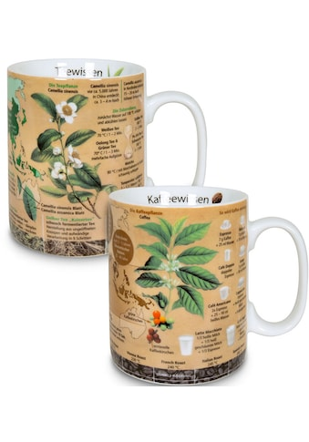 Könitz Becher »Wissensbecher Kaffeewissen & Teewissen«, (Set, 2 tlg.), 2-teilig kaufen