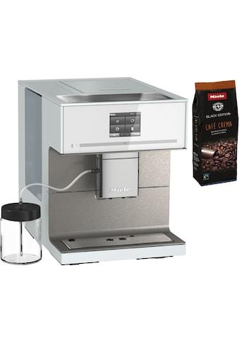 Miele Kaffeevollautomat »CM7550 Brillantweiß«, Appfähig kaufen