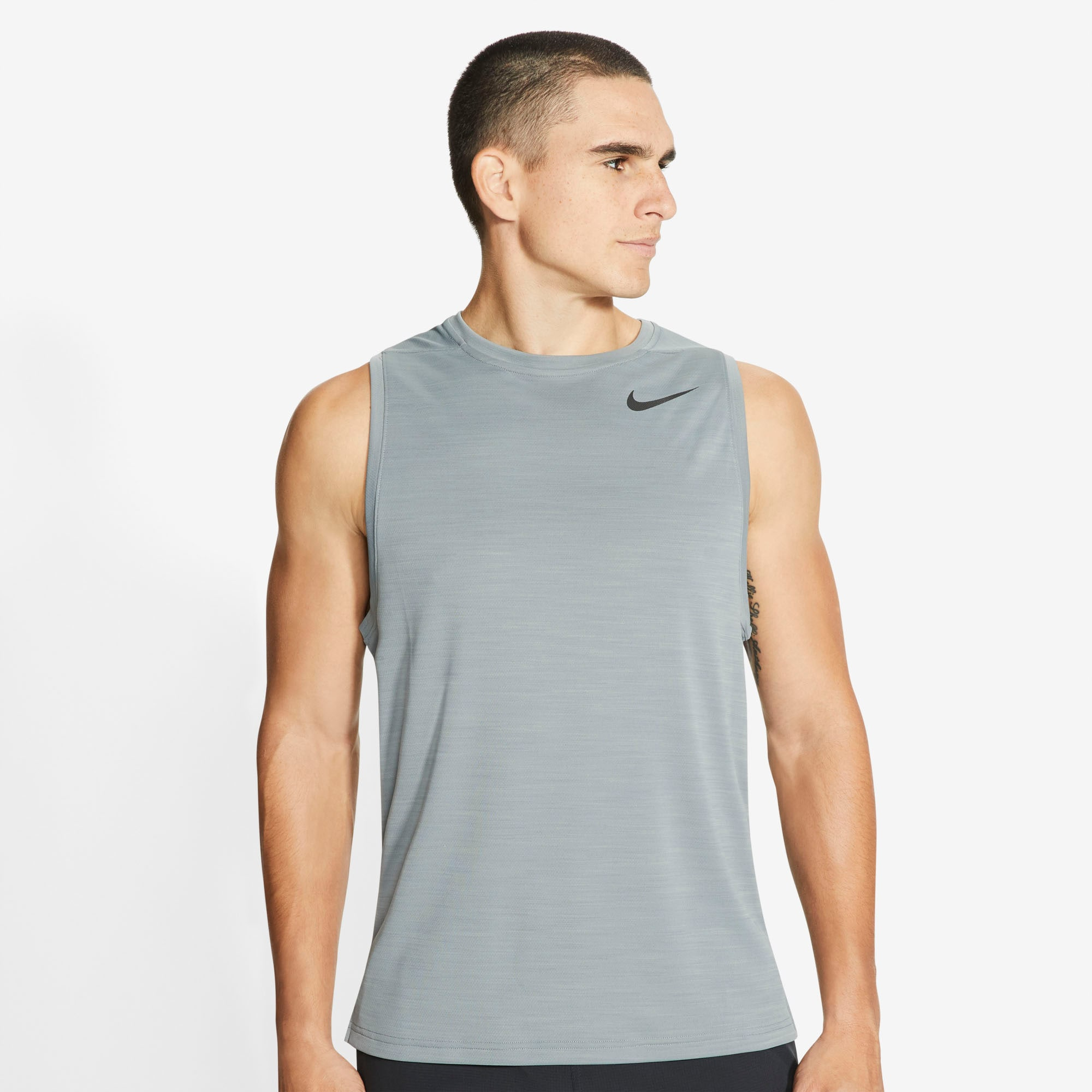 Nike Trainingstop Men's Training Tank grau Herren Tops Shirts