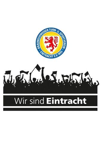 Wall - Art Wandtattoo »Eintracht Braunschweig Fans Logo« (1 Stück) kaufen