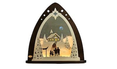 Weigla Lichterbogen »Bergkapelle«, in 3D Optik kaufen