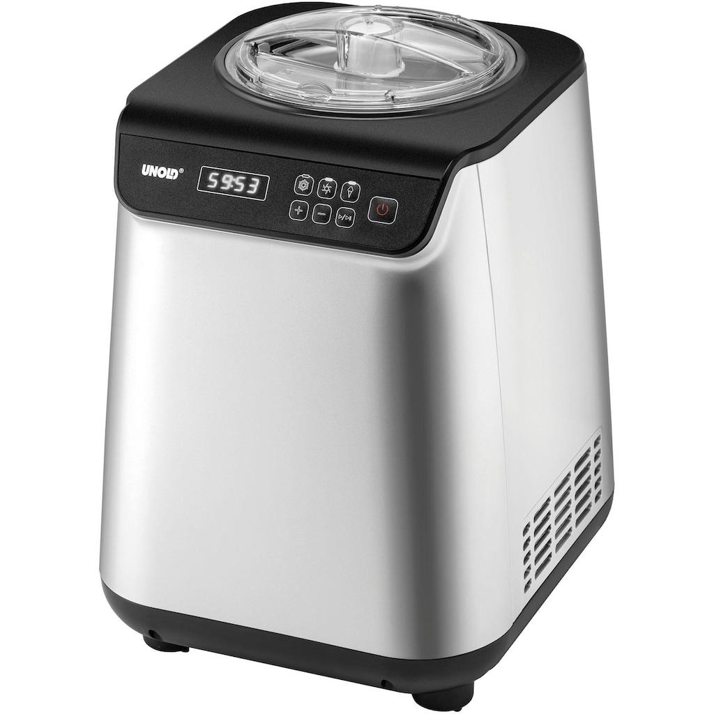 Unold Eismaschine »Uno 48825«, 1,2 l, 135 W