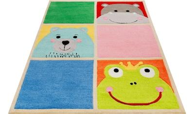 Kinderteppich, »What's Up!?«, SMART KIDS, rechteckig, Höhe 9 mm, handgetuftet kaufen