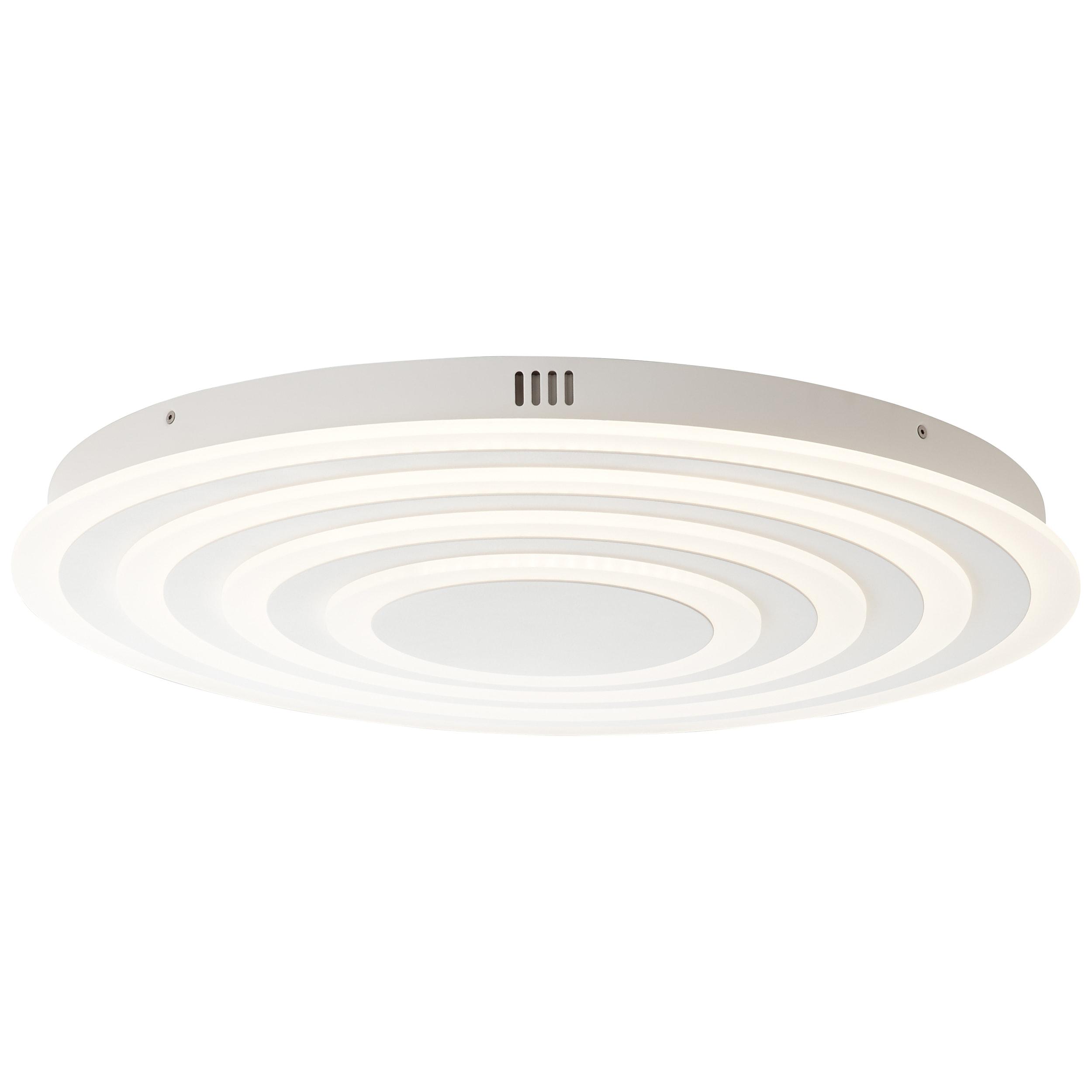 AEG Caresa LED Deckenleuchte 64cm sand/weiß