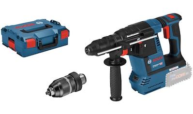 BOSCH PROFESSIONAL Akku - Bohrhammer »GBH 18V - 26 F«, 18 V, 2,6 J, SDS+, ohne Akku kaufen