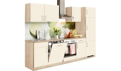 wiho Küchen Küchenzeile »Kiel«, mit E-Geräten, Breite 280 cm kaufen