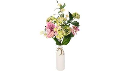 I.GE.A. Kunstblume »Mixed-Blumenstrauß«, Keramikvase kaufen