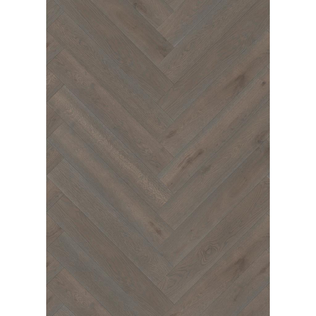 ter Hürne Parkett »Eiche azurbraun«, mit fühlbarer Oberfläche