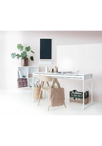 hammel Schreibtisch »MISTRAL«, mit weißem Metallgestell und drei Schubladen, Breite 137,4 cm, Danish Design kaufen