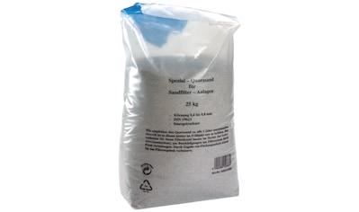 MYPOOL Quarzsand in versch. Gebindegrößen kaufen