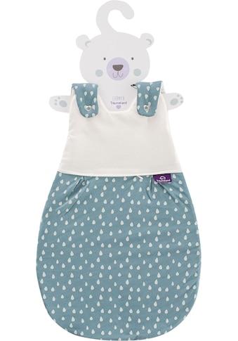 Träumeland Babyschlafsack »Set Tropfen Ozeanblau«, (Packung, 3 tlg., 3er-Pack) kaufen