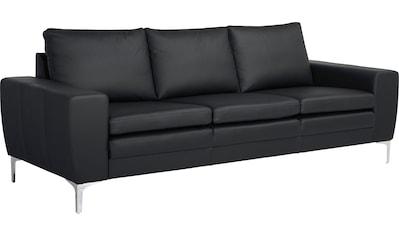 Places of Style 3-Sitzer »Twigo«, in Echtleder, mit hohem Sitzkomfort kaufen