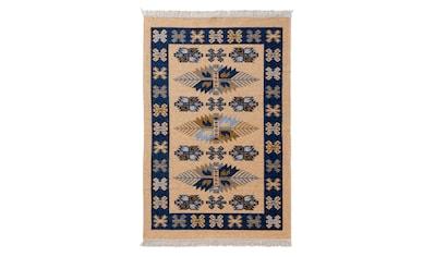 Sehrazat Teppich »Tulum 9910«, rechteckig, 5 mm Höhe, Wendeteppich, waschbar, Wohnzimmer kaufen