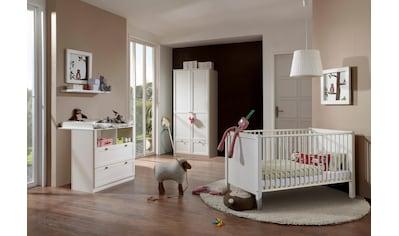 Babyzimmer-Komplettset »Helsingborg«, (Set, 3 St.), Bett + Wickelkommode + 2 trg. Schrank kaufen