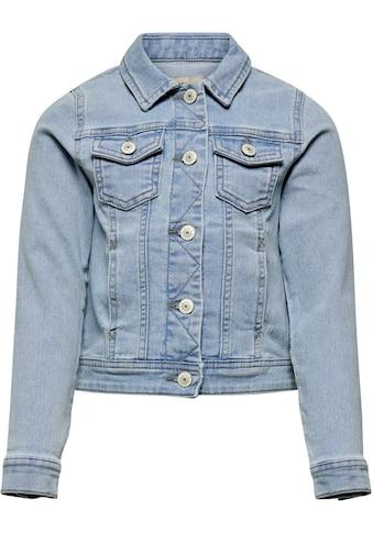KIDS ONLY Jeansjacke, in heller Waschung kaufen