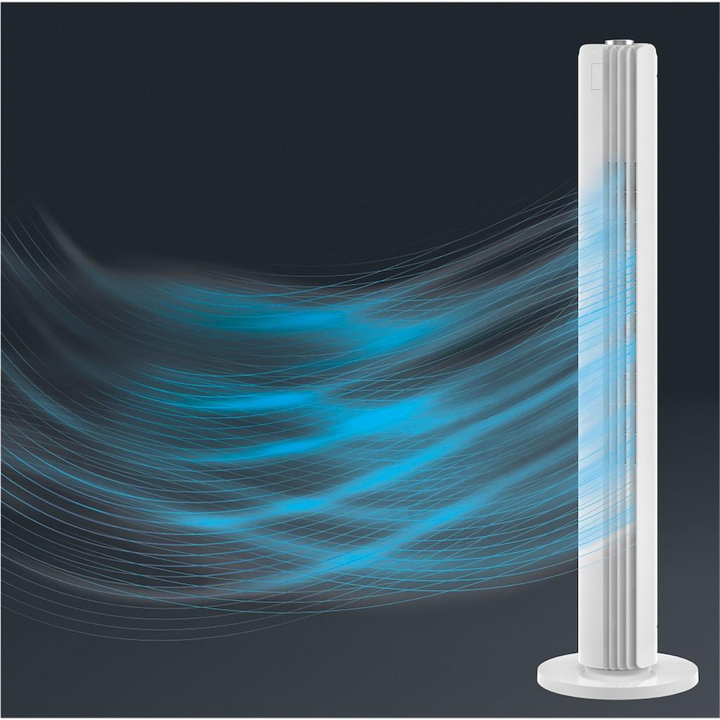 Rowenta Turmventilator »Urban Cool VU6720«, Leise; Leistungsstark; 3 Geschwindigkeiten; Automatische Oszillation