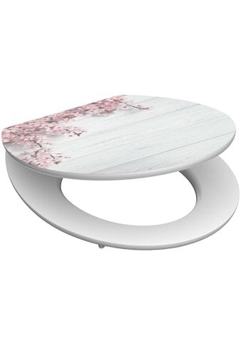 Schütte WC-Sitz »Flowers&Wood«, mit Absenkautomatik kaufen