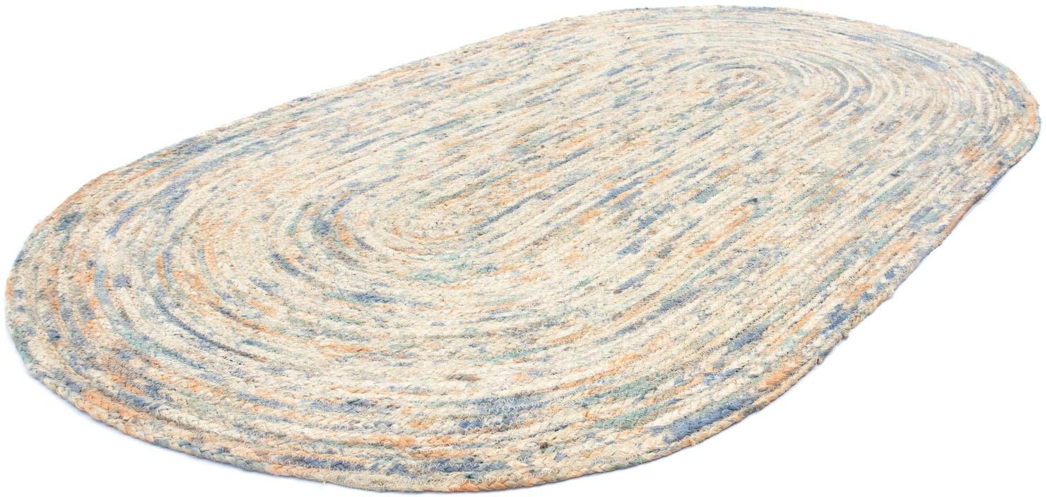 morgenland Teppich Sisalteppich Triana, oval, 6 mm Höhe beige Esszimmerteppiche Teppiche nach Räumen