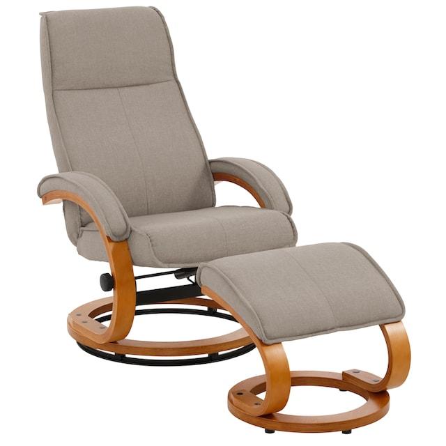 Home affaire Relaxsessel »Paris« (2-tlg., bestehend aus Sessel und Hocker)