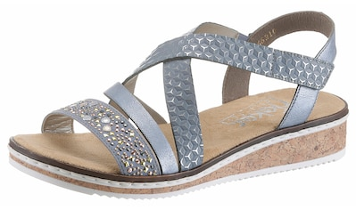 Rieker Sandalette, mit kleinem Stretcheinsatz kaufen