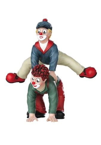 Gildeclowns Sammelfigur »Clown Dekofigur, Der Bocksprung«, handbemalt, Wohnzimmer kaufen