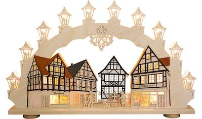 Weigla LED Schwibbogen »Altstadt«, 1 tlg., 15-flammig kaufen