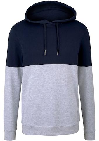 TOM TAILOR Denim Kapuzensweatshirt, in Kontrast Farben kaufen