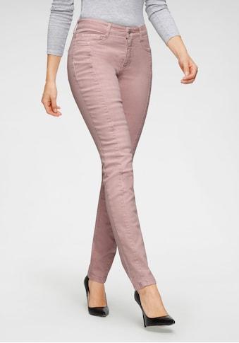 MAC Gerade Jeans »Angela-Pipe Seam«, Moderner Schnitt durch Längsnaht auf dem vorderen... kaufen