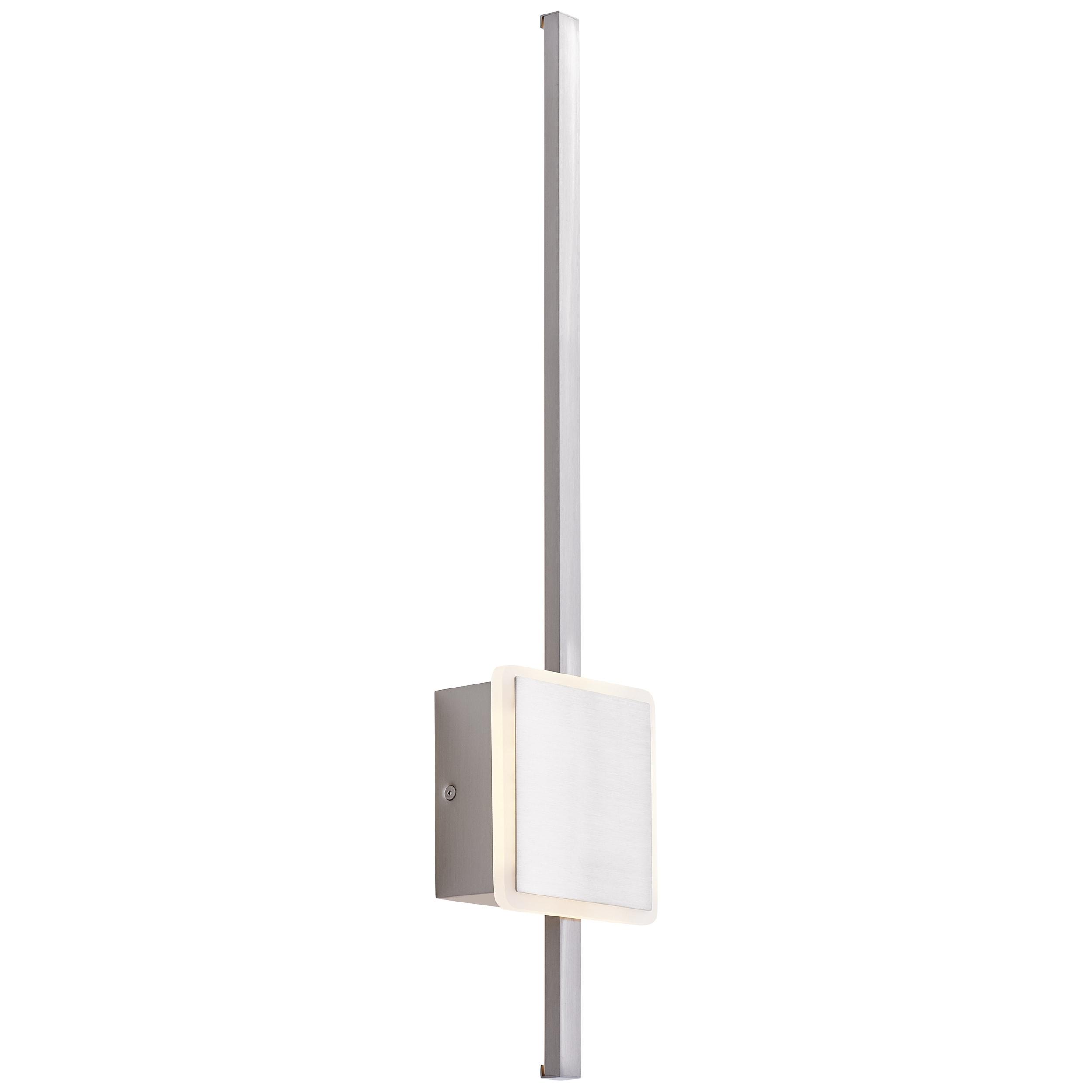 AEG Inessa LED Wandleuchte 62cm pearl nickel