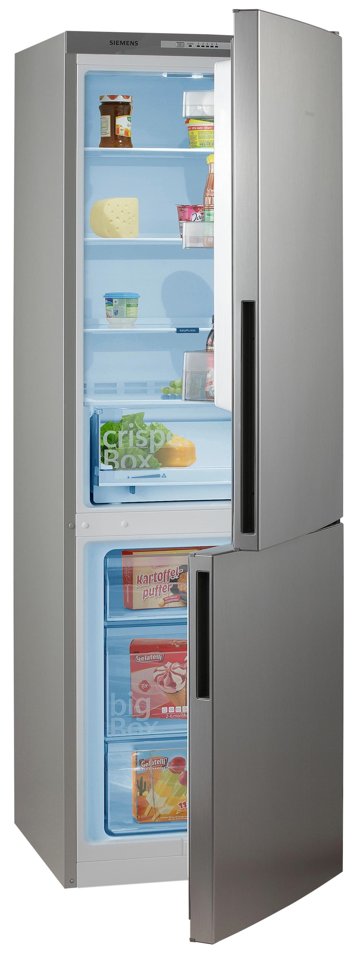 Siemens Kühlschrank Outlet : Siemens kühl gefrierkombination cm hoch cm breit baur